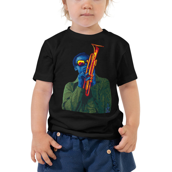 Miles Davis Toddler Short Sleeve Tee