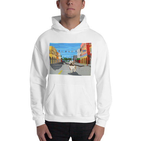 Dogtown Men's Hooded Sweatshirt