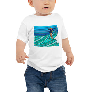 Twinkle Toes Baby Jersey Short Sleeve Tee