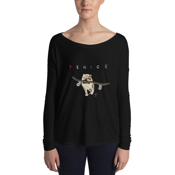 Dogtown Venice Ladies' Long Sleeve Tee