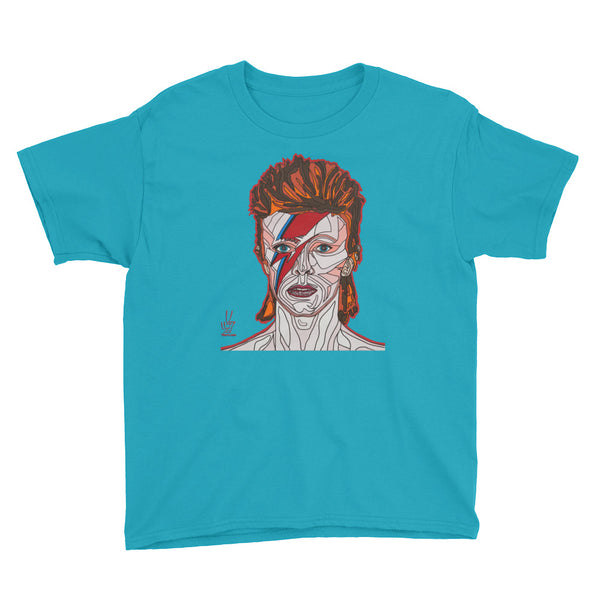 David Bowie Youth Short Sleeve T-Shirt
