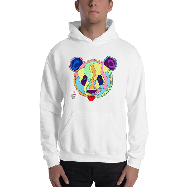 Giant Panda Men's Hooded Sweatshirt