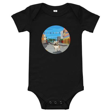 Dogtown Circle Baby Bodysuit