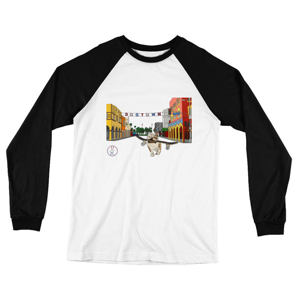 Dogtown 2.0 Men's Long Sleeve Baseball T-Shirt