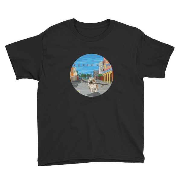 Dogtown Circle Youth Short Sleeve T-Shirt