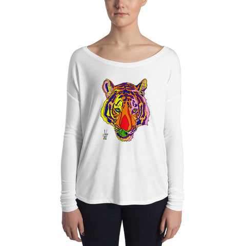 Bengal Tiger Women's Long Sleeve Tee