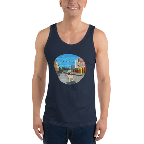 Dogtown Circle Men's  Tank Top