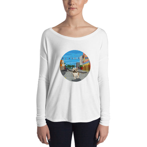 Dogtown Circle Ladies' Long Sleeve Tee
