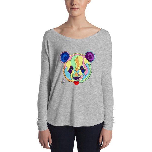 Giant Panda Women's Long Sleeve Tee
