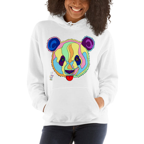 Giant Panda Women's Hooded Sweatshirt