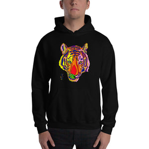 Bengal Tiger Men's Hooded Sweatshirt