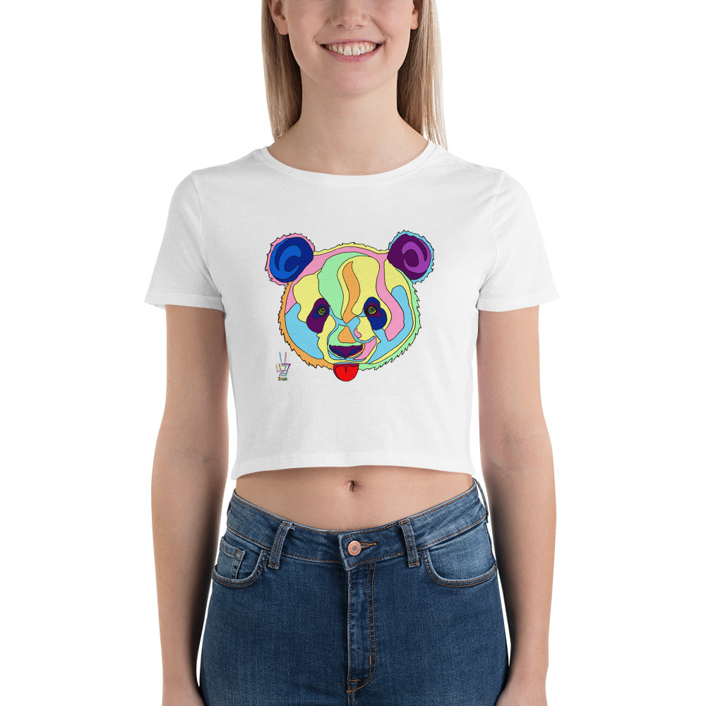 Giant Panda Women's Crop Tee