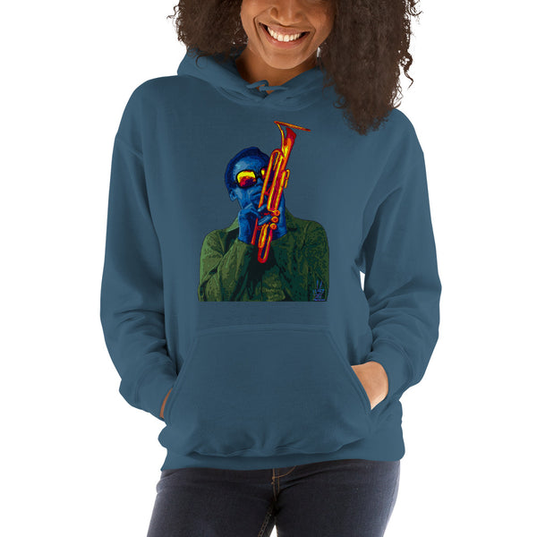 Miles Davis Women's Hooded Sweatshirt