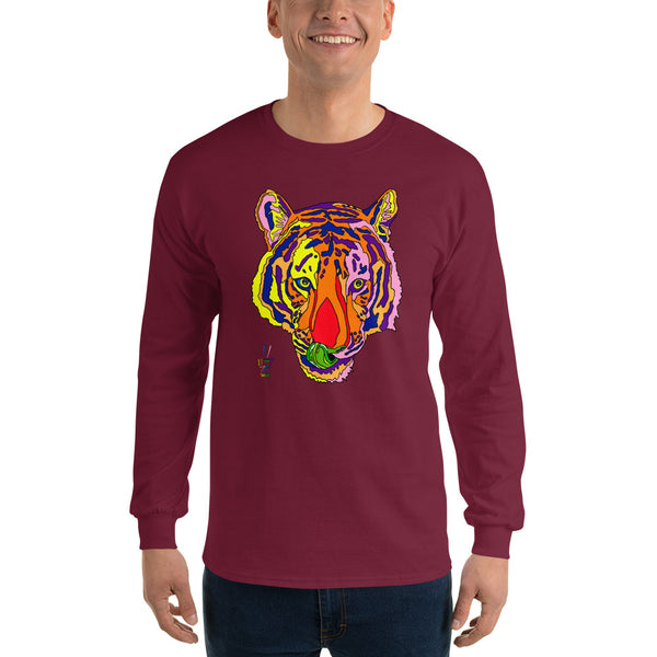 Bengal Tiger Men's Long Sleeve T-Shirt