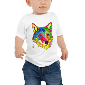 American Red Wolf Baby Fine Jersey Short Sleeve Tee