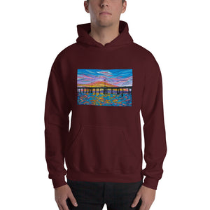 Venice Pier Men's Hooded Sweatshirt