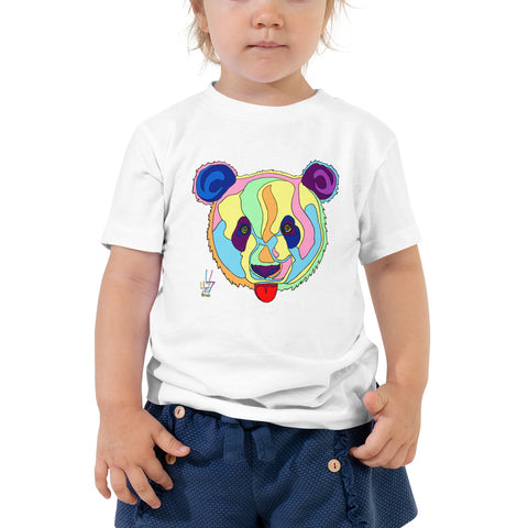 Giant Panda Toddler Short Sleeve Tee