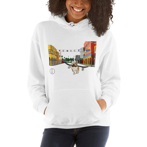 Dogtown Original Women's Hooded Sweatshirt