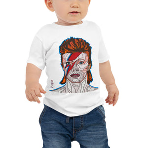 David Bowie Baby Jersey Short Sleeve Tee