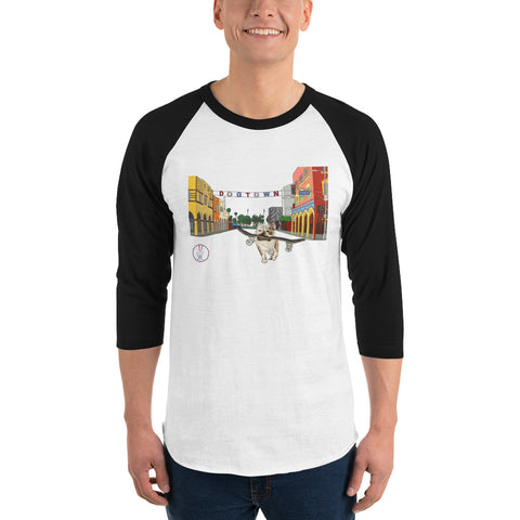 Dogtown 2.0 Men's 3/4 Sleeve Raglan Shirt