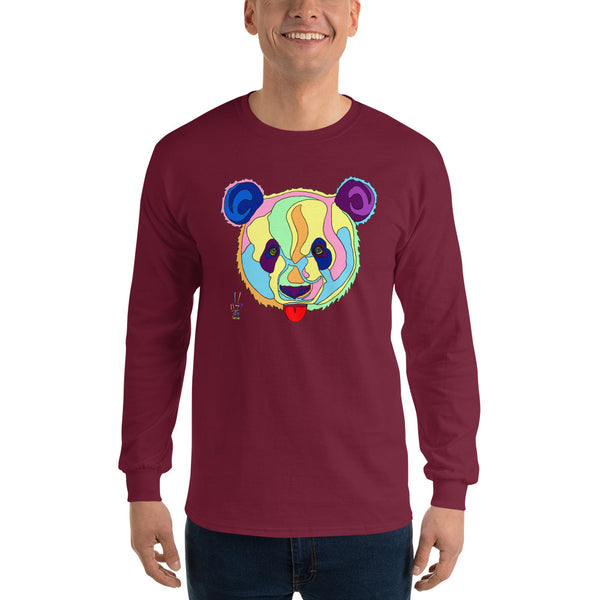 Giant Panda Men's Long Sleeve T-Shirt