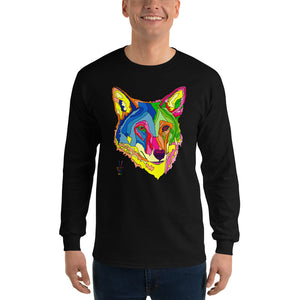 American Red Wolf Men's Long Sleeve T-Shirt