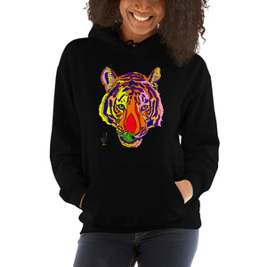 Bengal Tiger Women's Hooded Sweatshirt