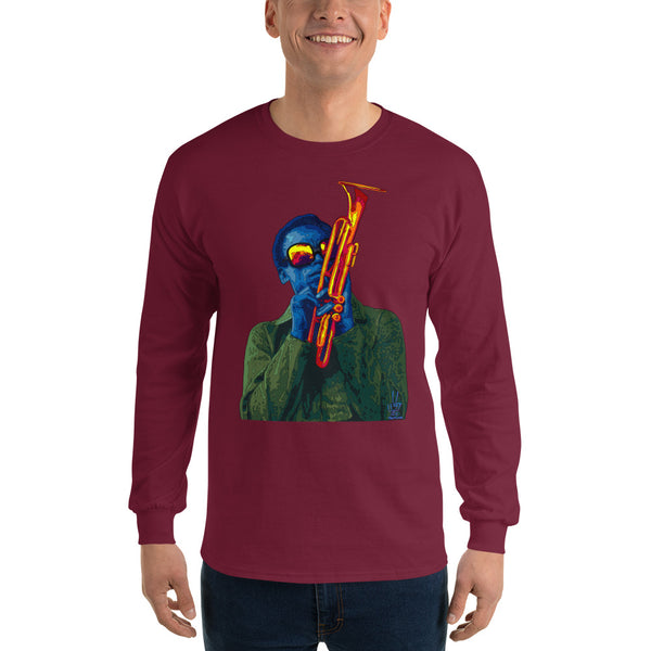 Miles Davis Men's Long Sleeve T-Shirt