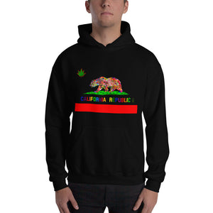 California Love Men's Hooded Sweatshirt