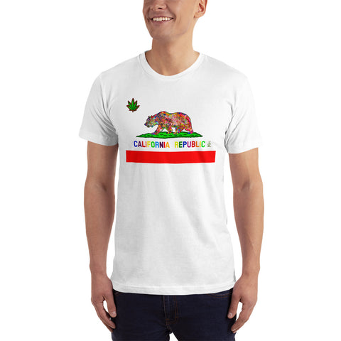 California Love Men's Fine Jersey Short-Sleeve T-Shirt
