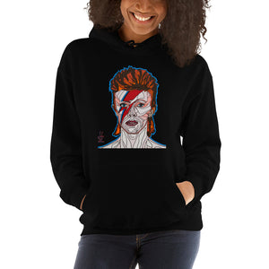 David Bowie Women's Hooded Sweatshirt