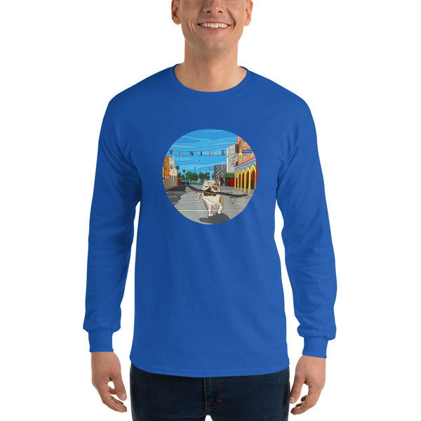 Dogtown Circle Men's Long Sleeve T-Shirt