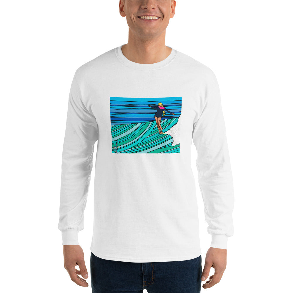 Twinkle Toes Men's Long Sleeve T-Shirt