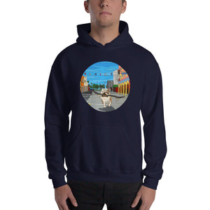 Dogtown Circle Men's Hooded Sweatshirt
