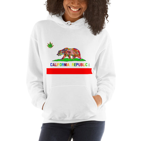 California Love Women's Hooded Sweatshirt
