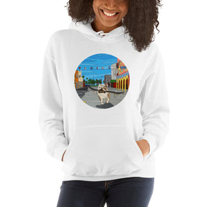 Dogtown Circle Women's Hooded Sweatshirt