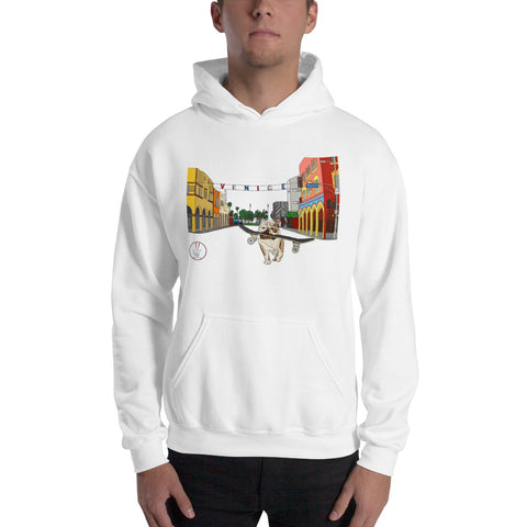 Dogtown Original Men's Hooded Sweatshirt