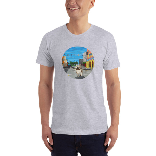 Dogtown Circle Men's Short-Sleeve T-Shirt