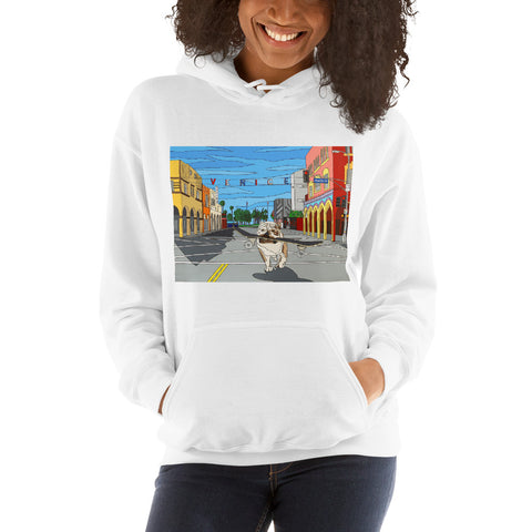 Dogtown Women's Hooded Sweatshirt