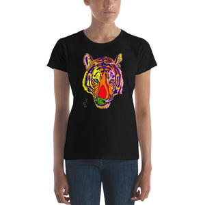 Bengal Tiger Women's Fine Jersey Short Sleeve T-Shirt