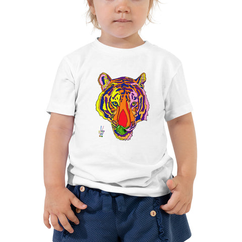 Bengal Tiger Toddler Fine Jersey Short Sleeve Tee