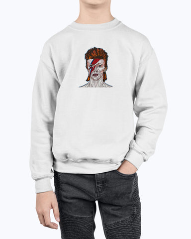 David Bowie Youth Fleece Sweatshirt