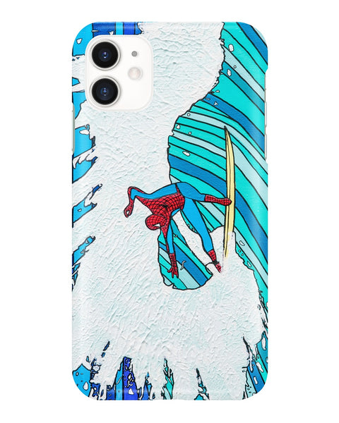 Spiderman iPhone and Samsung Galaxy Cases