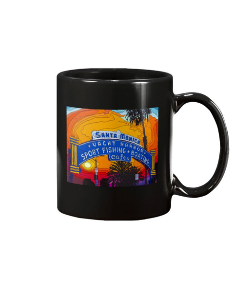 The End of the Road Large 15oz Ceramic Mug