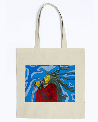 Bob Marley Canvas Tote Bag