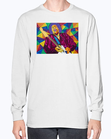 Jimi Hendrix Unisex Long Sleeve Shirt