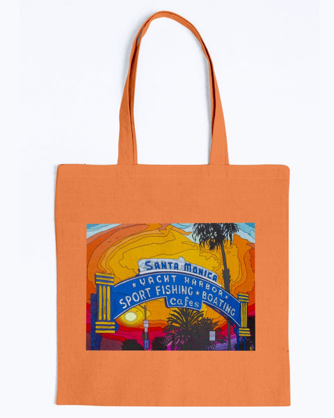 The End of the Road Canvas Tote Bag