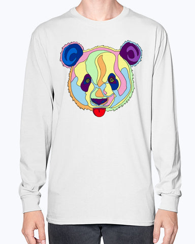 Giant Panda Unisex Long Sleeve Shirt