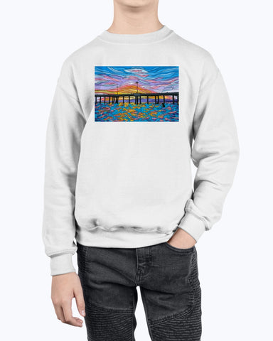Waiting for a Set Youth Fleece Sweatshirt