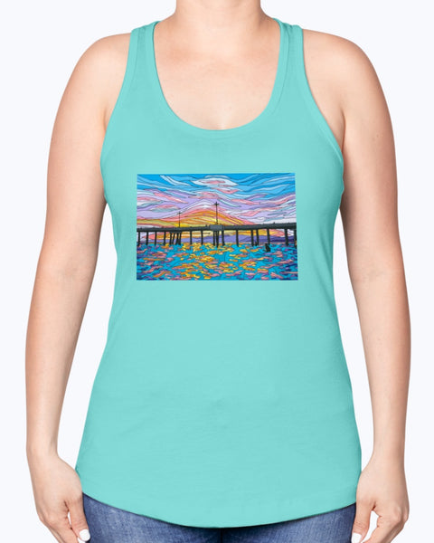 Waiting for a Set Women's Racerback Tank